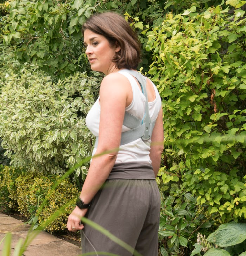 Mobilise Whilst Using The Posture Brace