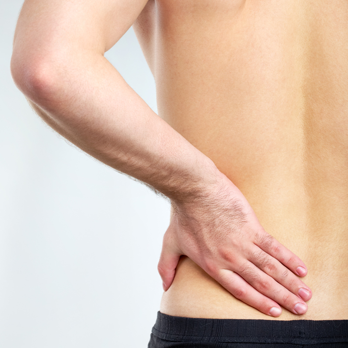 Osteoarthritis in the lower back